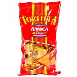 AMICA CHIPS TORTILLA NATURAL GR 200
