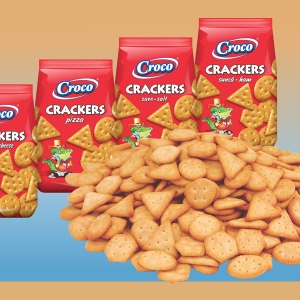 CROCO CRACKERS PIZZA GR 100