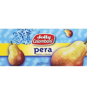JOLLY COLOMBANI NETTARE PERA ML 200 X 3
